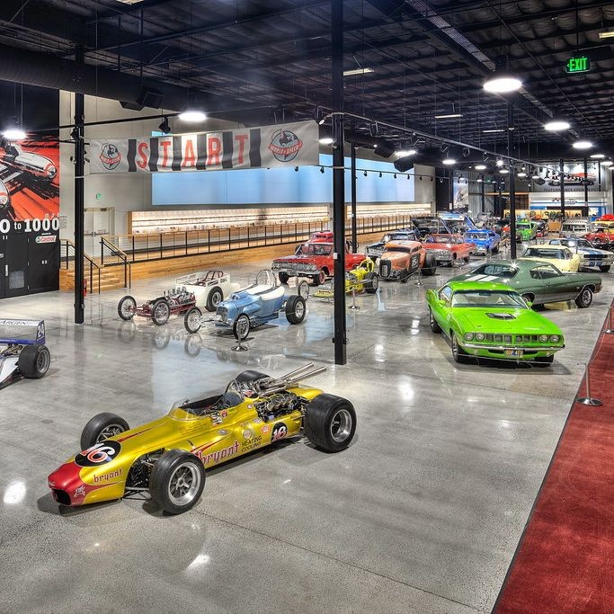 Golocalpdx new world of speed car museum opens in for Volunteer motors clinton hwy