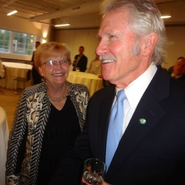 Gov. Barbara Roberts and John Kitzhaber